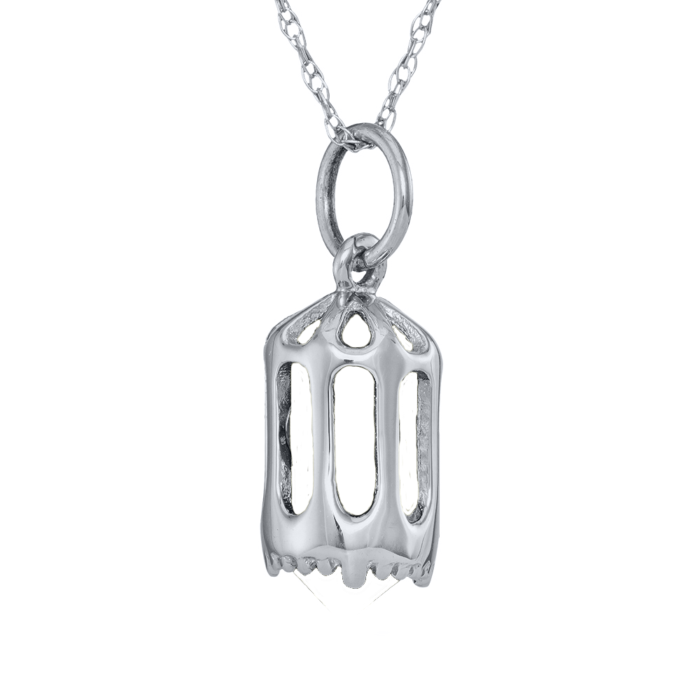 d605ba93c6 Mother's Birthstone Cage Pendant (2-7 Stones) | Mothers Rings and ...